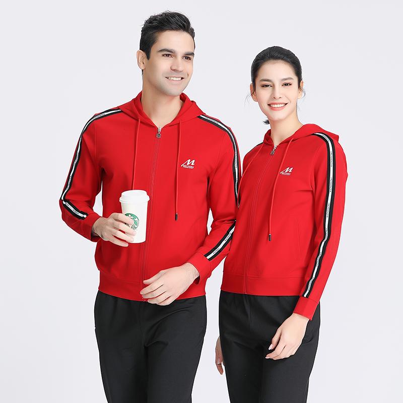 千足龙品牌2021加厚哥弟罗马系列13810拉链帽衫,团体服定制
