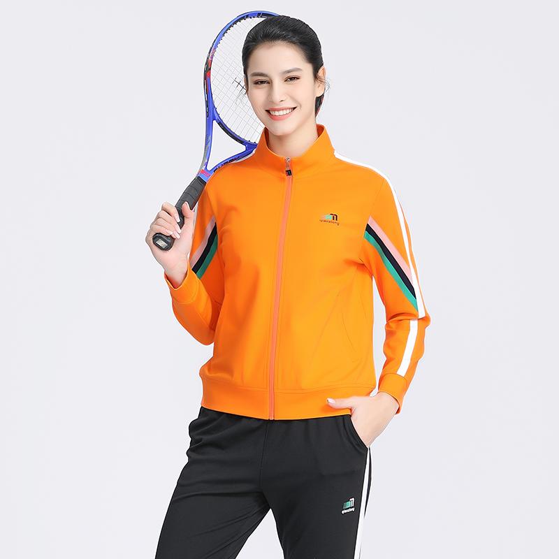 千足龙品牌2021贝壳罗马系列63806拉链外套,团体服定制